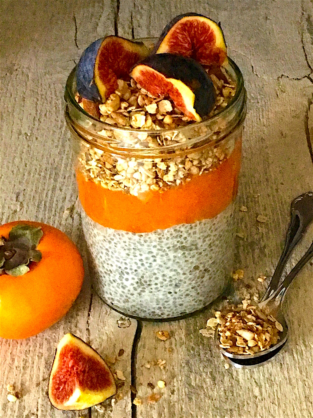 Chia Persimmon And Coconut Pudding Lotust 246 Rtchen