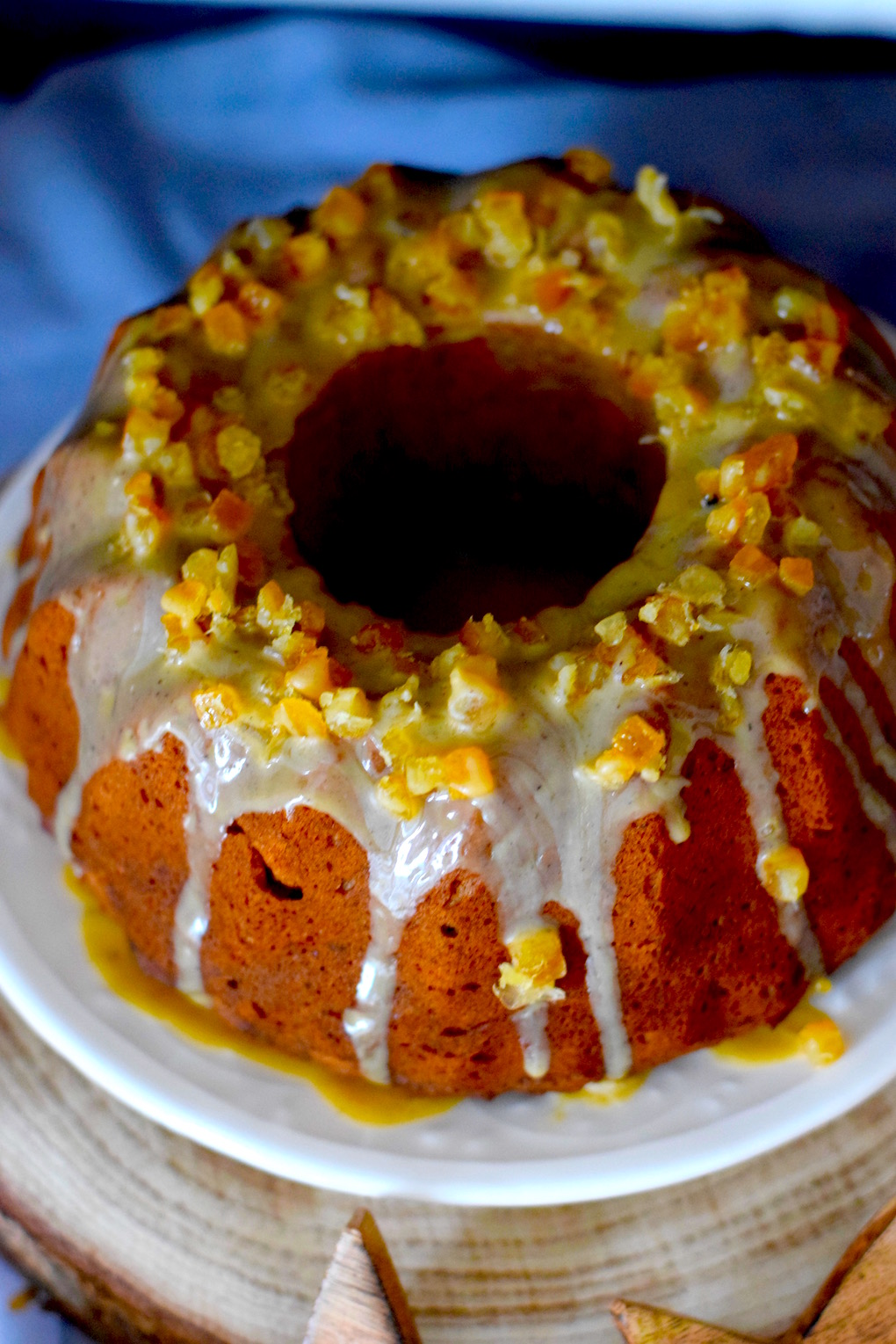 Orange Christmas Cake Recipe